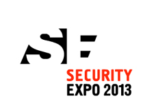 Banner for Security Expo Exhibition