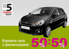 Flash banners for Mitsubishi Motors Bulgaria