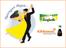 Campaign VK Commercial for Bonduelle and Kikkoman