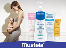 Advertising campaign for the brand Mustela