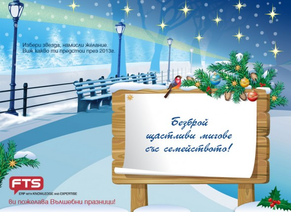 FTS` Christmas Card