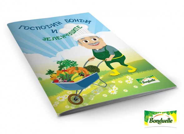 "Book ""Mister Bondi and the vegetables"""