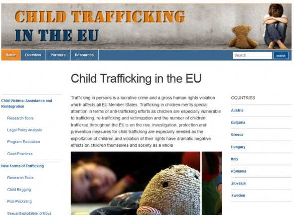Childrentrafficking.eu