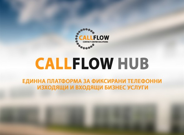 Corporate presentation for CallFlow Hub