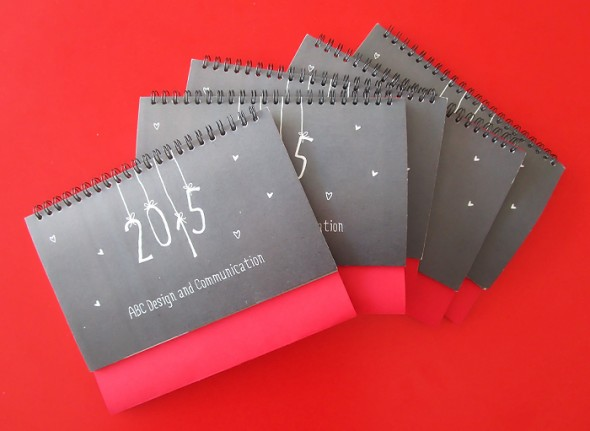 Christmas cards and calendar of  ABC Design &Communication