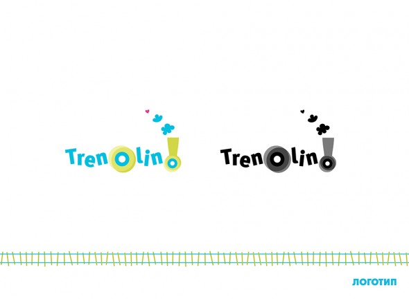 Developing a logo for a kids club Trenolino 1