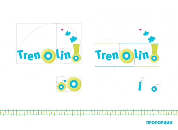 Developing a logo for a kids club Trenolino 2