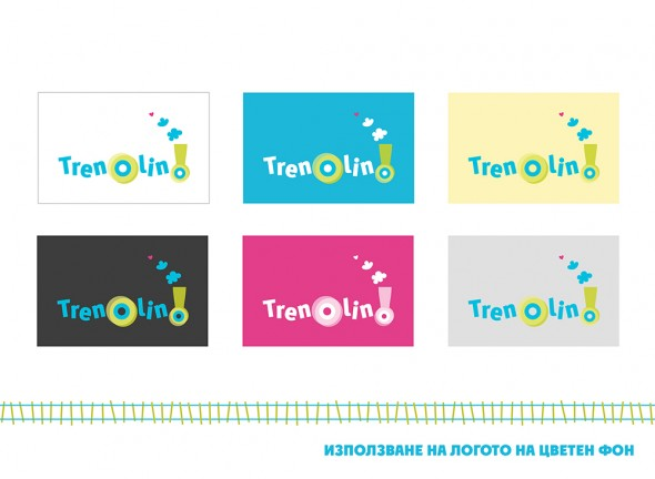 Developing a logo for a kids club Trenolino 3