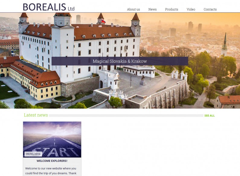 New tourist site of Borealis Ltd.