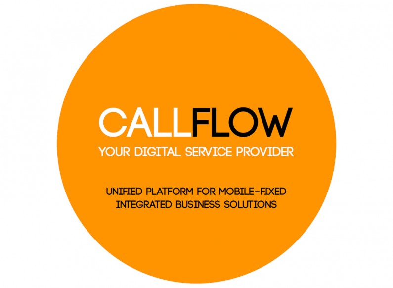 Representative product presentation for the cloud services of CallFlow