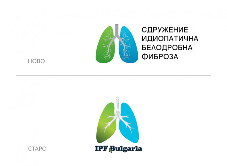 Redesign of the logo of IPF Association Bulgaria