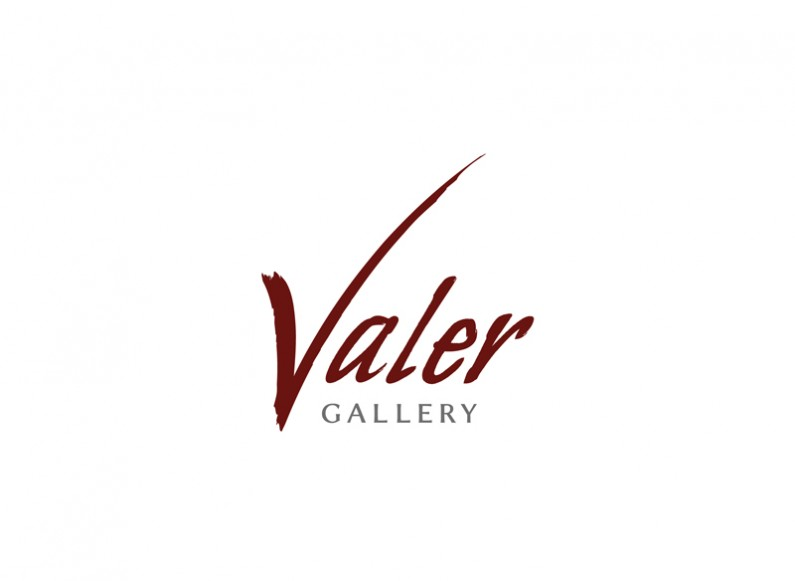 Redesign of the logo of Valer gallery 1
