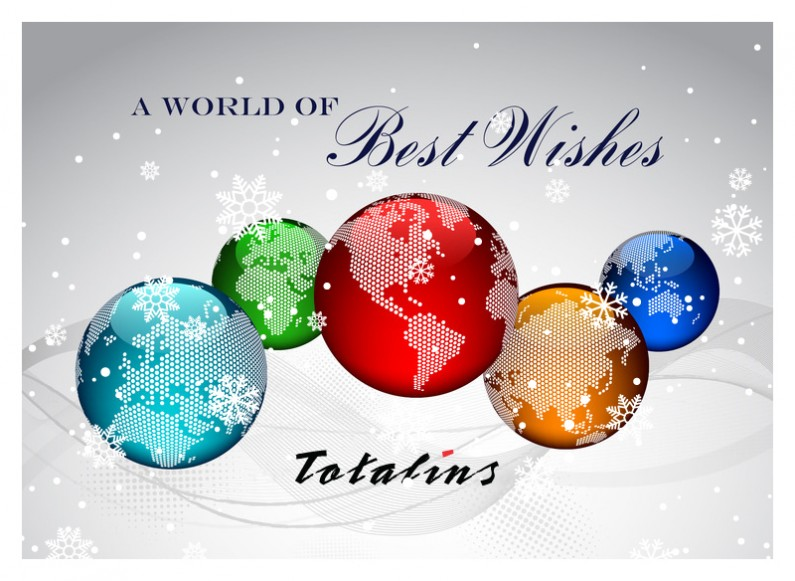 Design and development of Christmas card for Totalins 2