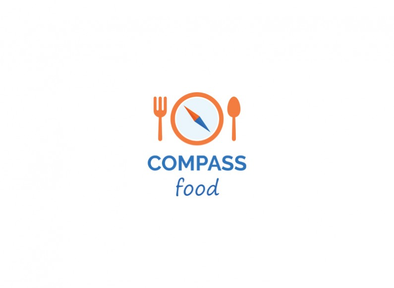 Design of corporate logo for Compass Food