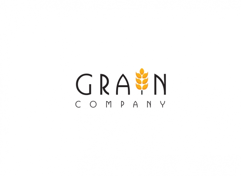 Design of corporate logo Grain Company
