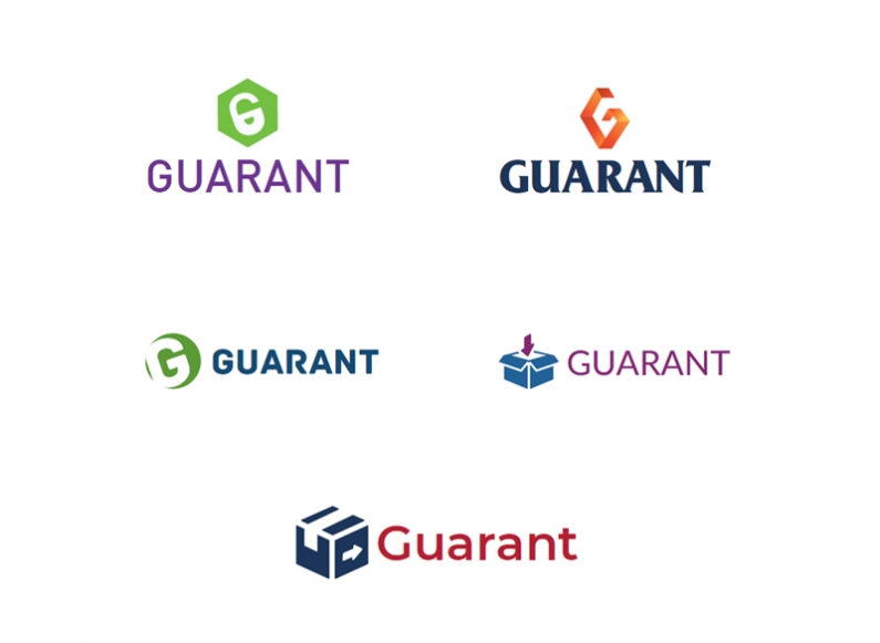 Design proposals for corporate logo for Guarant