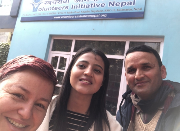 Training in Nepal for 10 NGOs for digital communications