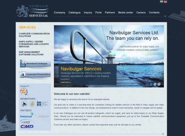 Navibulgar Services Ltd. - The team you can rely on.