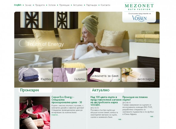 Web site of Mezonet