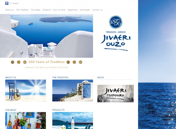 Product website for the brand Jivaeri 1